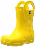 Crocs Kid's 7 Unisex Handle It Rain Boot, Yellow,