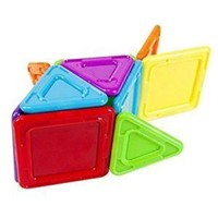 Magformers 65010 Standard Rainbow Opaque Solid Set