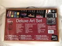 Darice Studio 71 Deluxe Art Set in Wooden Case