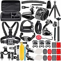 Neewer 83-In-1 Action Camera Accessory Kit for