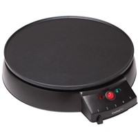 CucinaPro 12-inch Electric Griddle and Crepe