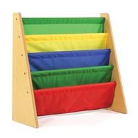 Tot Tutors Book Rack, Primary Colors