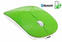 Tsmine Slim Rechargeable Bluetooth Mouse, Green -