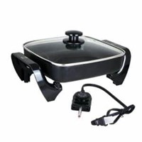 BLACK+DECKER Electric Skillet, 12x15, Deep Dish,