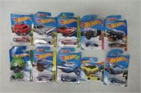 Lot of 10 Hot Wheels Cars