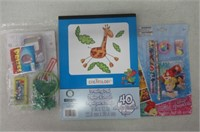 Lot of assorted Coloring Items
