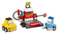Lego Juniors Guido And Luigi's Pit Stop