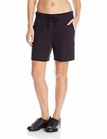 Hanes Women's XL Jersey Short, Black