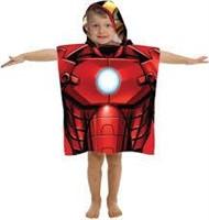 Marvel Avengers Ironman Hooded Bath/Beach Poncho