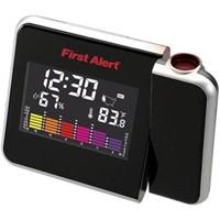 First Alert Weather Clock Radio,Black (SFA2200)