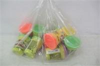 (10) Lot of Ten Play-Doh 4oz. Various Colours
