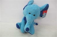 Kid Connection Plush Blue Elephant 10 inches
