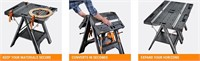 Pegasus Multi-Function Work Table and Sawhorse