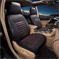 FH Group Seat Cover Quilted Leather