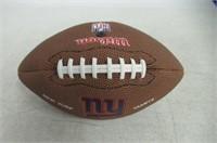 NFL Wilson NY Giants Football, Brown