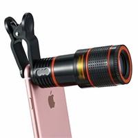 Phone Camera Lens Kit, 12X Optical Zoom Marco Lens