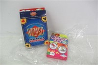 Lot of Card Games; The Original Wizard Card Game &