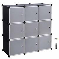 9-Cube Storage DIY Modular Cube Organizer Cabinet