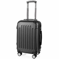 PRASACCO Hand Luggage Suitcase, Ultra Lightweight