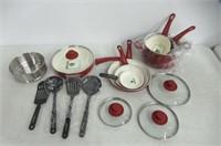 GreenLife Soft Grip Ceramic Non-Stick Cookware,