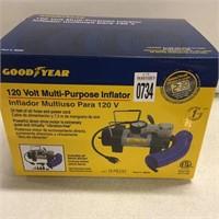 GOOD YEAR 120V MULTI-PURPOSE INFLATOR