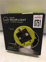LUCI SOLAR LIGHT + MOBILE CHARGER