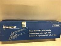 IMPERIAL TRIPLE HEAD 180 DEGREE TUBE BENDER