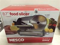 "NESCO 8.7"" FOOD SLICER"