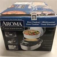 AROMA RICE COOKER 4-12 QUARTS
