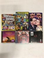 ASSORTED CDs/DVDs