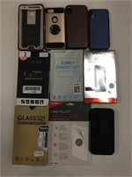 ASSORTED PHONE CASES AND ACCESSORIES