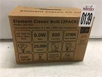 SENGLED ELEMENT CLASSIC BULB 2 PACK
