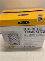 BELLA ELECTRIC CERAMIC KETTLE 1.2L