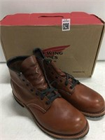 RED WING SHOES SIZE 7