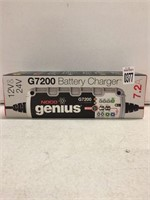 GENIUS NOCO 7.2A SMART BATTERY CHARGER