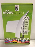MOHU CURVED INDOOR AMPLIFIED HDTV ANTENNA