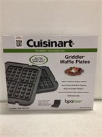 CUISINART GRIDDLE WAFFLE PLATES