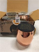 MOSCOW MULE SOLID COPPER 4PC