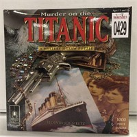 MURDER ON THE TITANIC JIGSAW PUZZLE