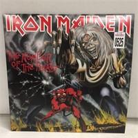 IRON MAIDEN  RECORD ALBUM