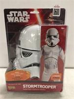 STAR WARS STORMTROOPER ACTION SUIT SZ 8-10