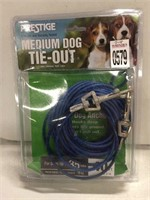 PRESTIGE MEDIUM DOG TIE-OUT UP TO 35LBS