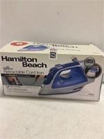 HAMILTON BEACH RETRACTABLE CORD IRON