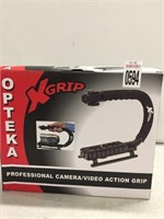 OPTEKA PROFESSIONAL CAMERA/VIDEO ACTION GRIP