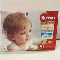HUGGIES LITTLE SNUGGLERS SIZE 4