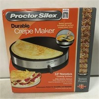 PROCTOR-SILEX DURABLE CREPE MAKER