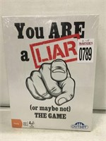 YOU ARE A LIAR(OR MAYBE NOT) THE GAME AGES 12+