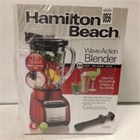 HAMILTON BEACH WAVE-ACTION BLENDER 48OZ.