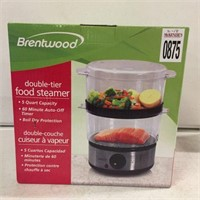 BRENTWOOD DOUBLE-TIER FOOD STEAMER