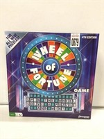 WHEEL OF FORTUNE GAME 4TH EDITION AGES 8+